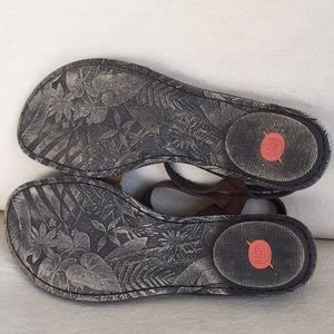 1c25602458de Born Shoes - Born Ebb Casual Brown Leather Sandal 11